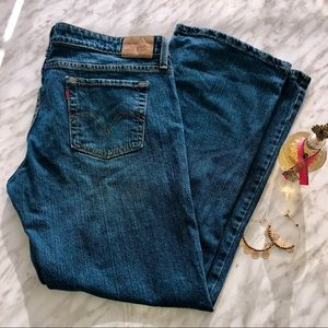 Levi's Strauss & CO 545 Low Rise Boot Cut short 12
